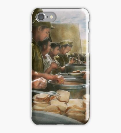 Army - Another potato please iPhone Case/Skin