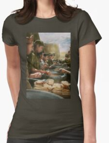 Army - Another potato please Womens Fitted T-Shirt