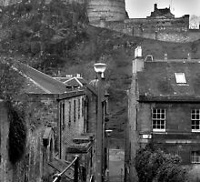 The Vennel - Edinburgh by Chris Clark