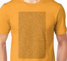 A few decimals Unisex T-Shirt