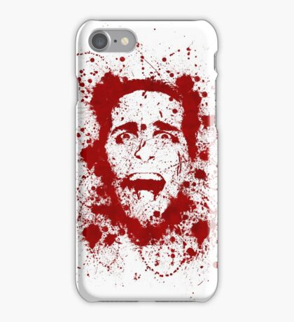 American psycho iPhone Case/Skin