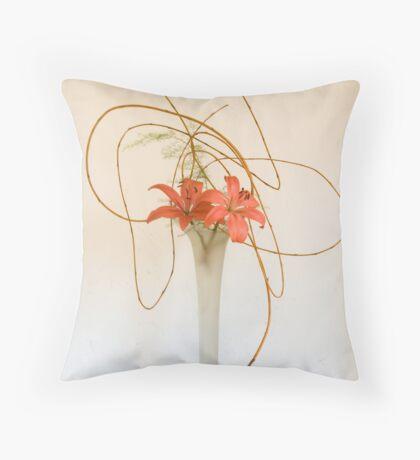 Ikebana-005 Throw Pillow