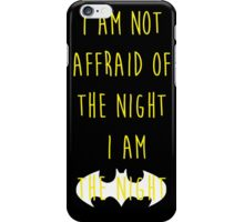 Batman affraid night dark iPhone Case/Skin