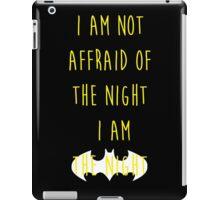 Batman affraid night dark iPad Case/Skin