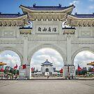 Chiang Kai-Shek Memorial Plaza, Taipei, Taiwan by TonyCrehan