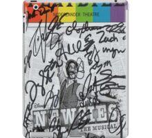 Newsies Playbill - Pride iPad Case/Skin