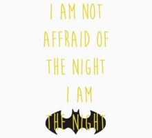 Batman affraid night light by remohd