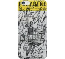 Newsies Playbill - 2012-2013 Casts iPhone Case/Skin