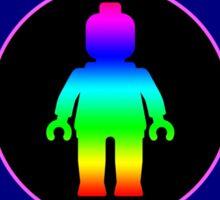 MINIFIG RAINBOW Sticker