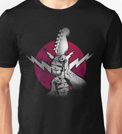 Rock Music Guitar Power Unisex T-Shirt