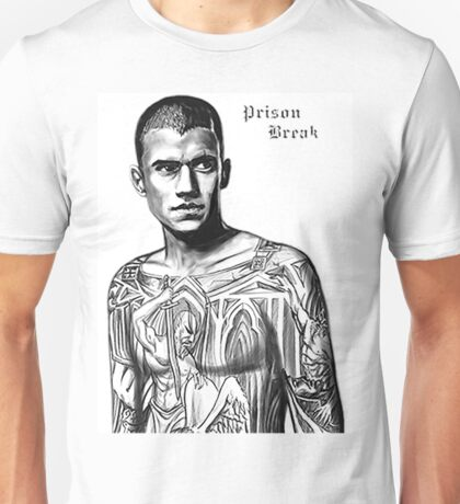 Michael Scofield Prison Break Unisex T-Shirt