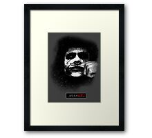 Joker - Life is a joke Framed Print