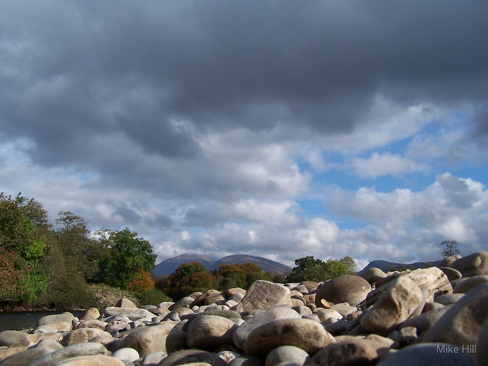 Pebbles by Mike Hill