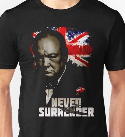 Allied Nations - Winston Churchill Unisex T-Shirt