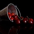 Still Life with Cherries by Martie Venter