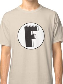 THE LETTER F Classic T-Shirt