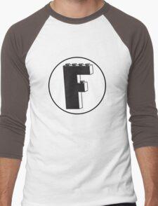 THE LETTER F Men's Baseball ¾ T-Shirt