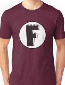 THE LETTER F Unisex T-Shirt