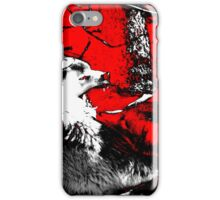 Snarling Wolf Wars Artwork iPhone Case/Skin