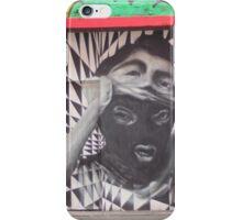 Mask checkerboard street art Cork iPhone Case/Skin