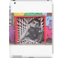Mask checkerboard street art Cork iPad Case/Skin