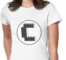 THE LETTER C Womens Fitted T-Shirt