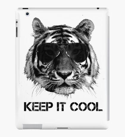 Keep it cool tiger iPad Case/Skin