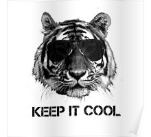 Keep it cool tiger Poster