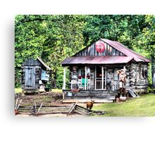 Coke Shack Canvas Print