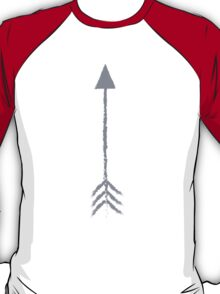 Grey Arrow pointing up T-Shirt