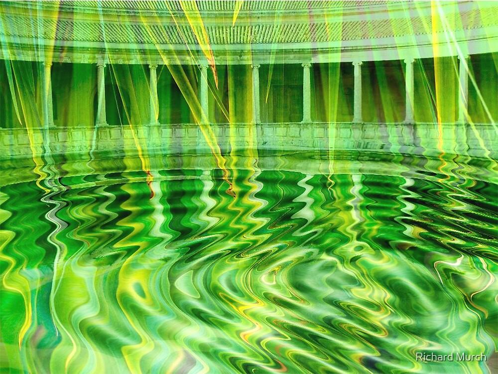 Green Water Courtyard by Richard Murch
