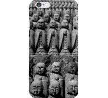 Small Buddha Statues  iPhone Case/Skin