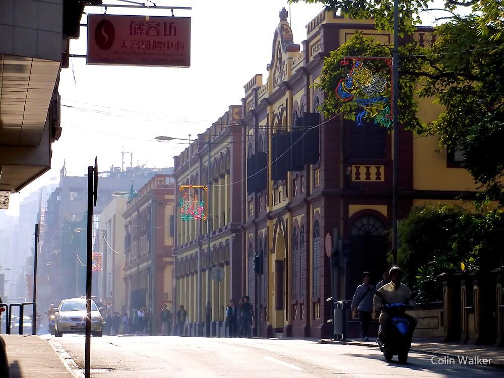 Macau Street by Colin Walker
