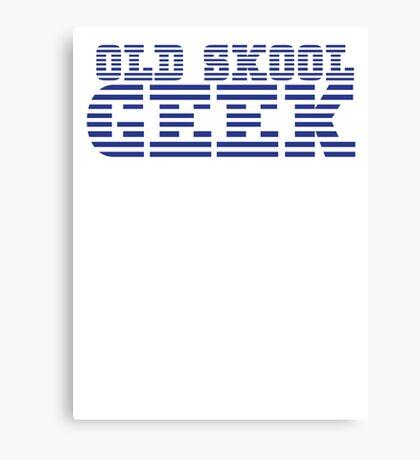 OLD SKOOL ibm GEEK Canvas Print