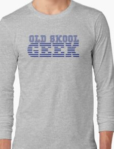 OLD SKOOL ibm GEEK Long Sleeve T-Shirt