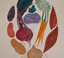 A Homage to Root Vegetables by apcomfort