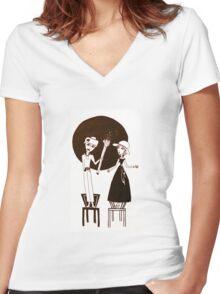 Little Magic Women's Fitted V-Neck T-Shirt