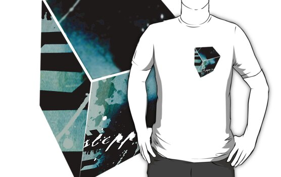 Stepping Stones T-Shirt by Faizan Qureshi