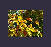 Sunlit Leaves of Russet and Green T-Shirt