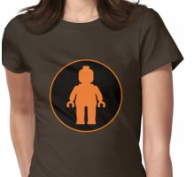 MINIFIG ORANGE  Womens Fitted T-Shirt