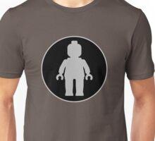 MINIFIG GREY Unisex T-Shirt