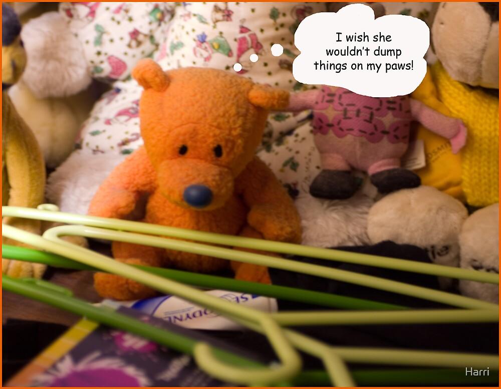 Dumped on bear by Harri