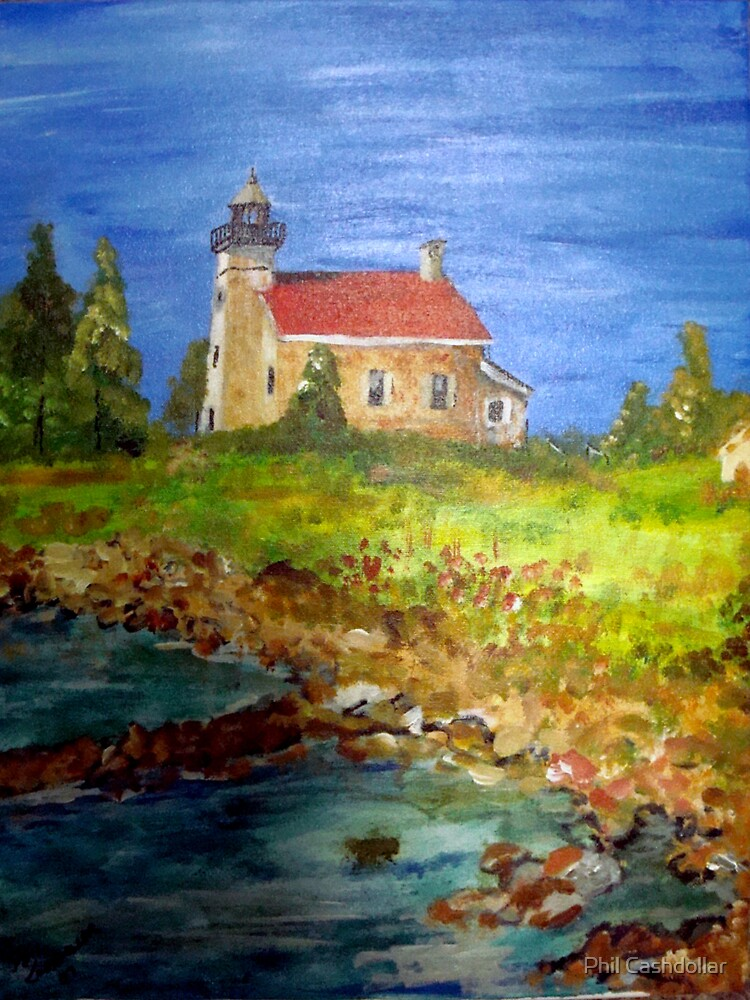 CopperHarbor Lighthouse by Phil Cashdollar