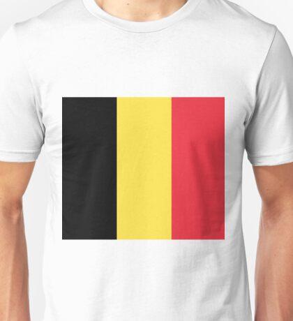 Flag of Belgium Unisex T-Shirt