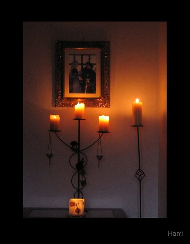 Candle lit by Harri