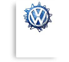 VW look-a-like logo  Metal Print