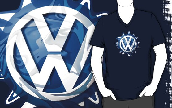 VW look-a-like logo  by melodyart