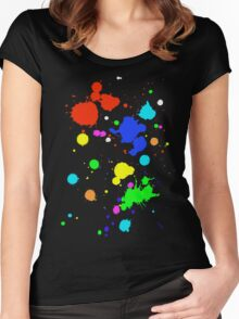 paint Women's Fitted Scoop T-Shirt