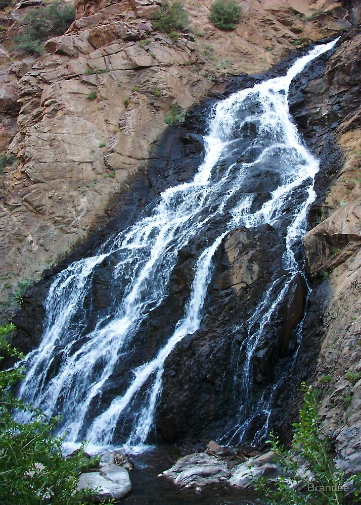 Waterfall up 12th street canyon by Brandee