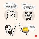 Easily Tempted by Panda And Polar Bear
